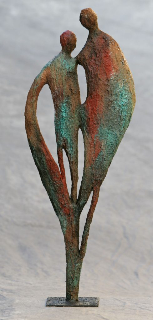 Samen gekleurd, abstract